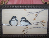 Sweet Love of Winter Chickadees