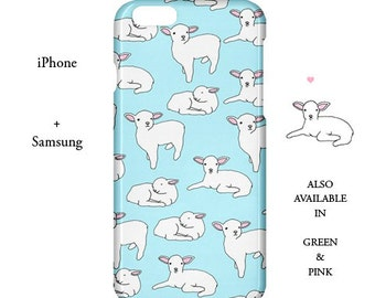 Lamb iphone case,lamb,cute,kawaii,sheep,samsung case,samsung,iphone case,case,5c,samsung,iphone,s6,5s,cover,5,galaxy s5,iphone 6,animal,5,s4