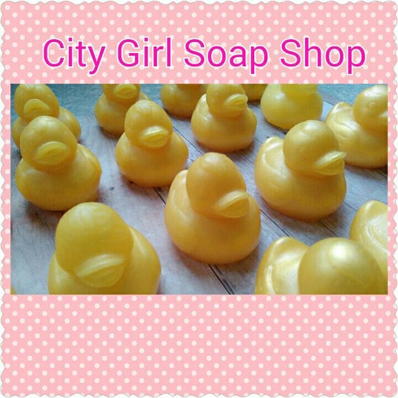Baby Shower Favors Duck Soap ~ Rubber ducky soap favors baby shower by citygirlsoapshop