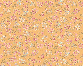 NEW PRICE! CHATSWORTH Bloom in Yellow by Riley Blake, Small Floral
