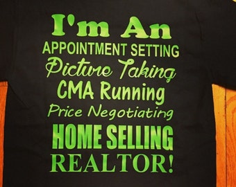 Real estate agent!
