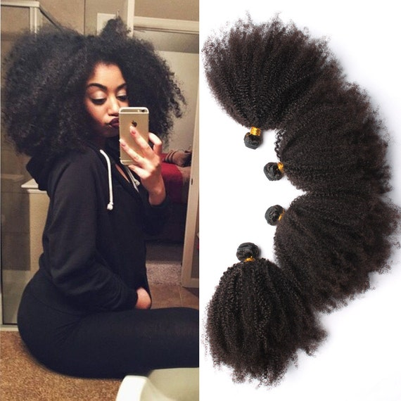 Cheap 6a Mongolian Afro Kinky Curly Hair 4pcs By Sweetamoretto