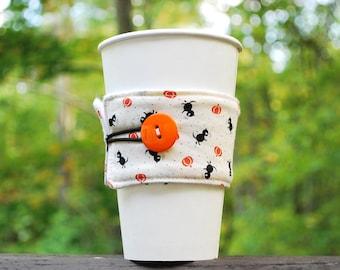 Coffee Cup Sleeve - TOGO - Halloween Cuteness!