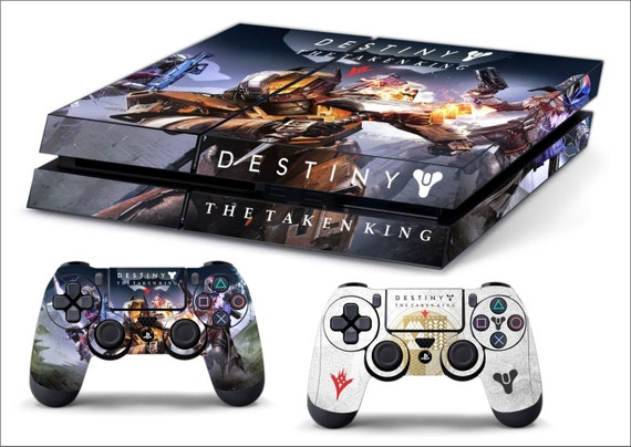 Destiny The Taken king Skin PS4 Horizonal by SignSmith on Etsy