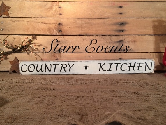Country kitchen signs Distressed signs Wooden signs for the