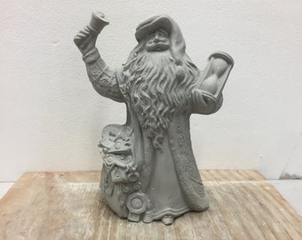 Ceramic Bisque Father Time Santa Gare 2794 Ready to Paint