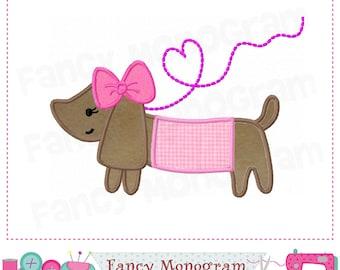 Valentine Puppy applique,Puppy design,Puppy embroidery,Puppy,Gog,Valentine's day,Pet applique,Pet design,Gog embroidery,Gog applique.-04