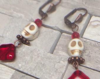 Alas Poor Yorick earrings