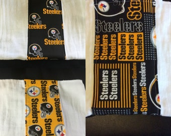 Pittsburgh Steelers Burp Cloth