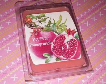 Hot Pink Pomegranate Wax Melts