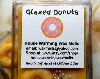 Glazed Donuts Wax Melts, soy tart, soy melt, wax tart