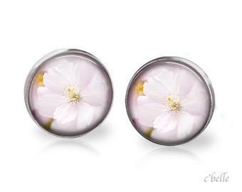 Earrings flowers - cherry blossom 8