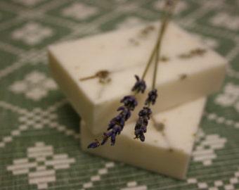Lavender honey soap bar, homemade soap, lavender soap