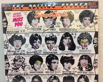 The Rolling Stones,Some Girls,Sealed Vinyl,Rolling Stones,Big Hits,Vinyl Record,Records,Vinyl Records Sale,Vinyl,LP Record,Record Album,Rock