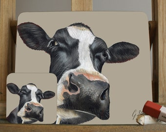 Cow Farm Animal Placemat/Coaster