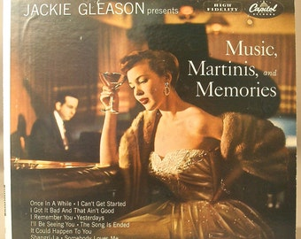 Jackie Gleason presents Music, Martinis, and Memories 1954 Original Vinyl