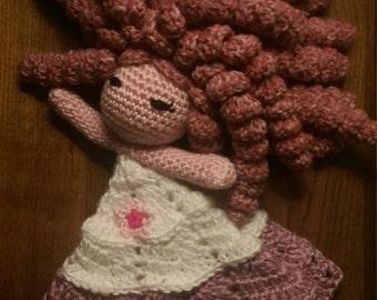 Rose Quartz Steven Universe Lovey Doll Baby Blanket