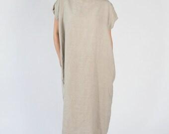 Summer Sale 20% off - Oversize Linen Dress
