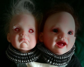 Conjoined Twin Reborn baby doll.