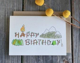 manly birthday card  etsy, Birthday card