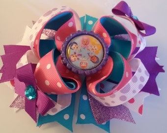 Bubble Gubbies Inspired Hair bow
