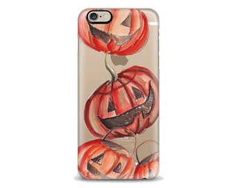 Pumpkins Iphone Case, Halloween iphone,, Fall iphone case, Iphone 6 case , Iphone 5 case, Iphone 4 case, custom iphone cover, Autumn phone