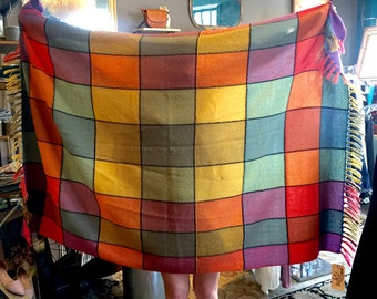 Power Plaid Wool Blanket