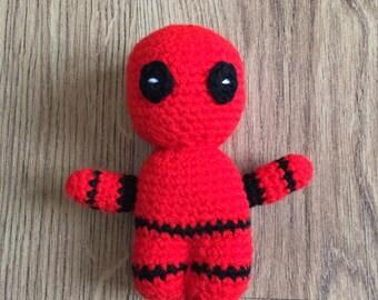 Deadpool figure, Deadpool amigurumi