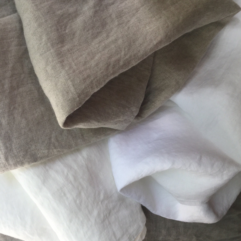 Soft Belgian Linen Duvet Cover 100 Flax Linen Dye Free