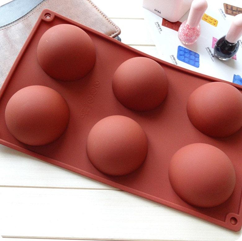 6 gro e semi kugel zylinder schimmel kuchen schimmel silikon. Black Bedroom Furniture Sets. Home Design Ideas