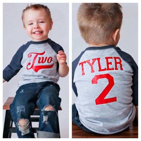 Baseball Birthday Shirt 2nd Birthday Shirt By