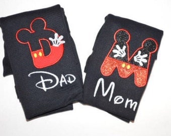 Mom/Dad Mickey Mouse shirt