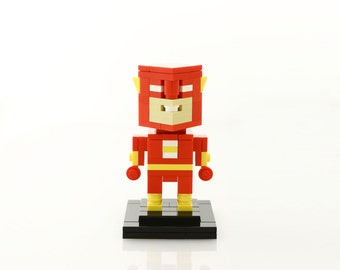 DC Comics Flash LEGO® Figure (Unofficial)