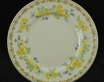 "Vintage Gorham ""Royal Buttercup"" Fine China 8.375"" Lunch Plate"