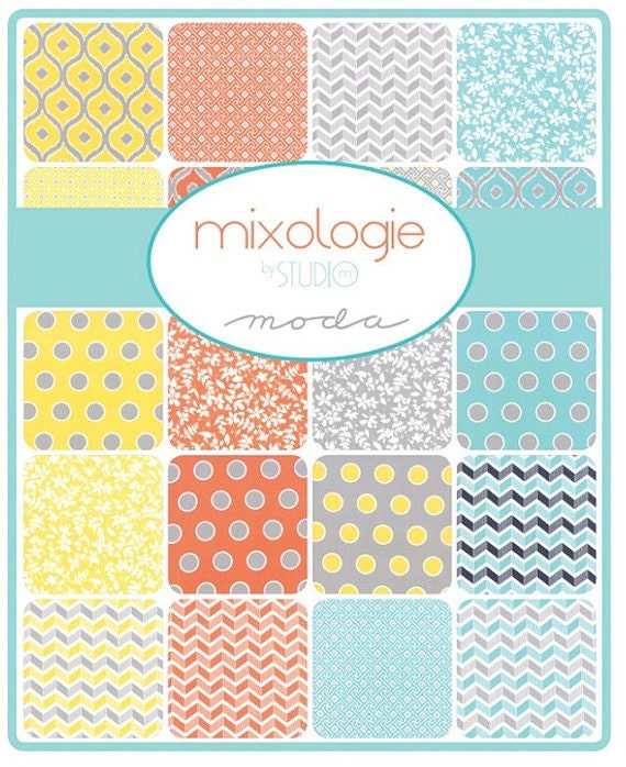 Layers Cake Design Studio : Moda Mixologie Layer Cake by Studio M Metro by FoxtailQuilting