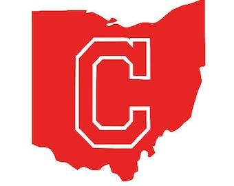 Cleveland Indians Vinyl Decal Sticker