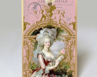 Marie Antoinette No. 2 Gift Tag