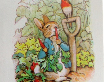Beatrix Potter Playing Cards, Peter Rabbit Deck of Cards, Vintage Playing Cards