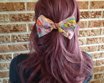 Classic Hair Bows for Teens and Women, Pretty Cure Hair Bow Clip