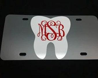 Dental Hygientist Personalized Tag