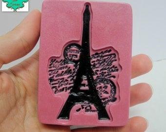 Eiffel Tower Soap Bar - Paris France Themed Soap, Ooh La La, World Traveler Soap, Fashionista Soap