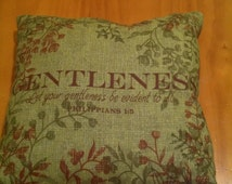 Unique Bible Verse Pillow Related Items Etsy
