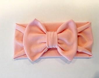 Peony pink bowband