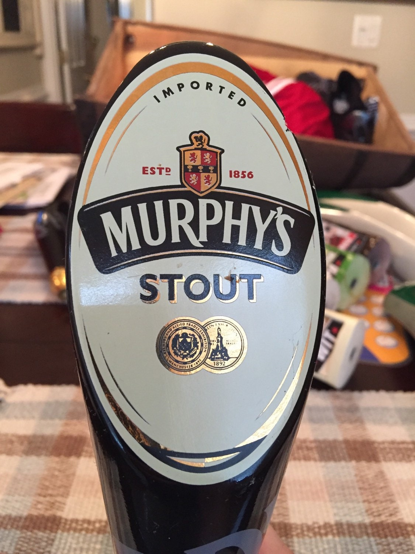Murphys Stout Tap Handle W Chip