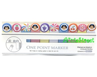 Japan 10in1 One Point Post IT Notes Sticky Memo SM072721
