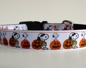 Snoopy Halloween Dog Collar