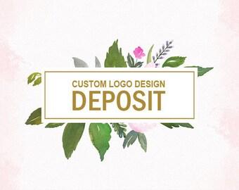 DEPOSIT for Custom logo design