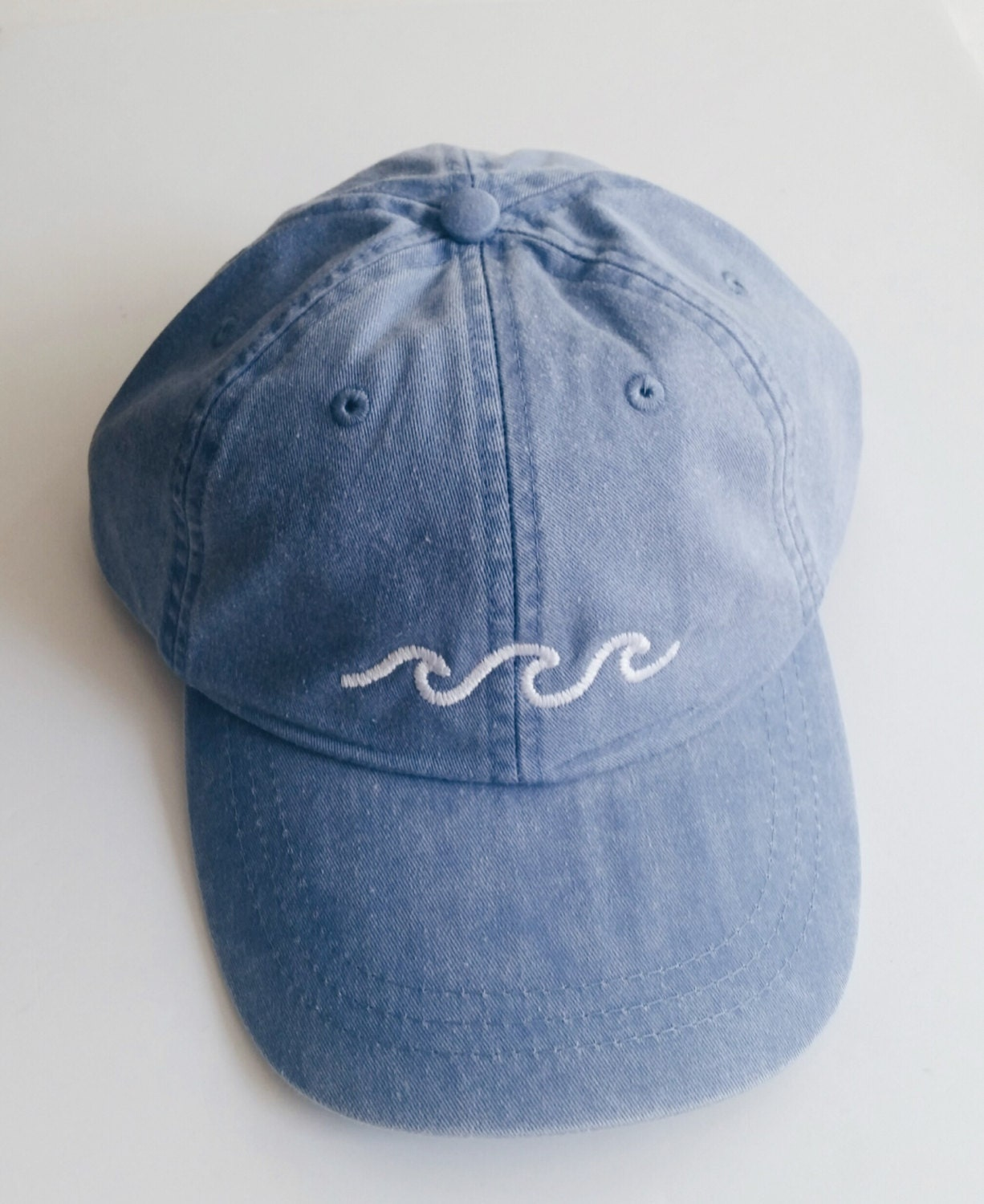Three waves baseball cap periwinkle