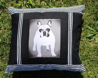 Bulldog Printed Cushion Covers. ..!!!