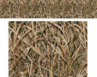 ORACAL Duck Hunter Grass Blades Camo Adhesive Vinyl...Digitally Printed for Permanent Use